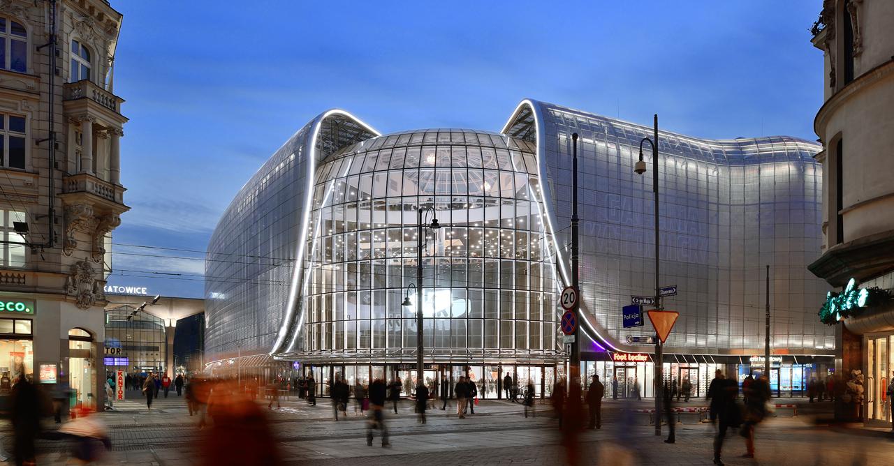 Gare et Galeria Katowicka